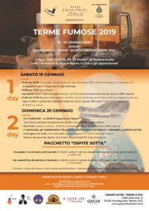 1^ Tappa 48° Campionato Italiano di Lento Fumo – 3° Memorial Alfredo Sottil @ Gran Hotel Terme | Montegrotto Terme | Veneto | Italia